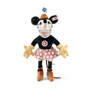 Steiff Disney Minnie Mouse 1932 - Multicoloured - Velvet - 31cm - 354007