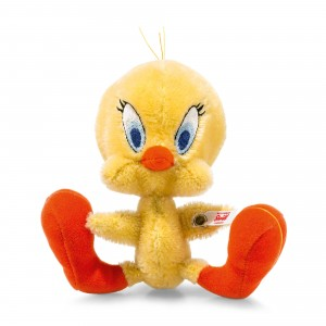 Steiff Tweety Pie - Yellow/Orange - Mohair 16cm - Limited Edition - 354670
