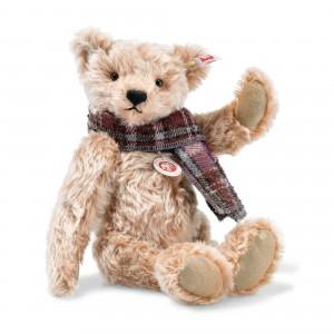 Steiff Willy Teddy Bear - Cinnamon Tipped - Mohair - 33cm - 006623