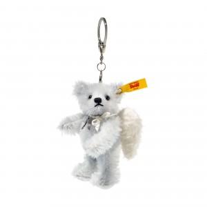 Steiff Pendant Raphael Teddy Bear - Ice Blue - Mohair - 11cm - 039553