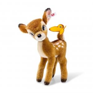 Steiff Disney Bambi - Light Brown - Mohair - 20cm - 354656