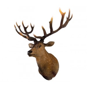 Grand Stag Head Wall Decor