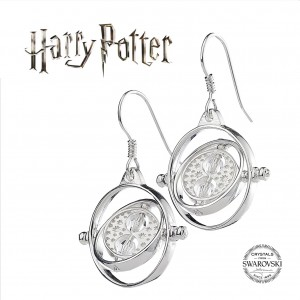 Harry Potter  Time Turner Earrings With Swarovski