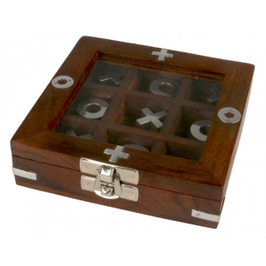 Tic Tac Toe Boxed Game