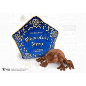 Chocolate Frog Plush And Pillow