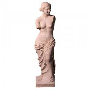 Venus De Milo Resin Fibreglass Statue - Roman Stone Finish